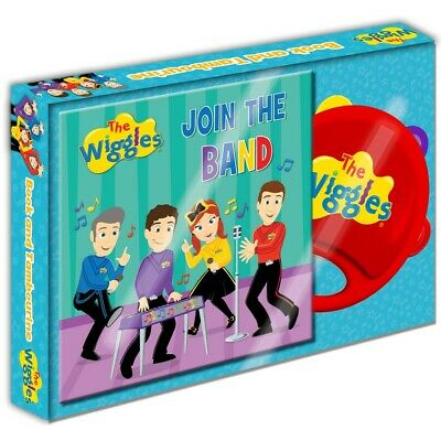 The Wiggles Join the Band Book & Tamborine Set