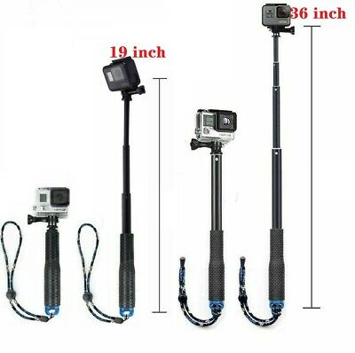 Extendable Selfie Stick Handheld Monopod for GoPro HERO 6 5 4 3+3 H9R Session HD