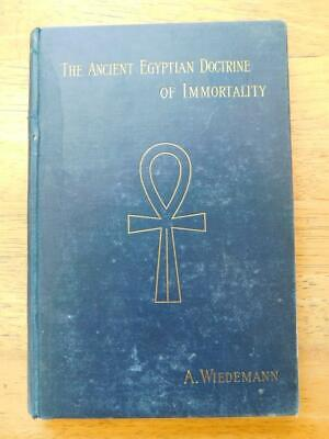 Rare Metaphysical - The Ancient Egyptian Doctrine of Immortality - 1st Ed. 1895