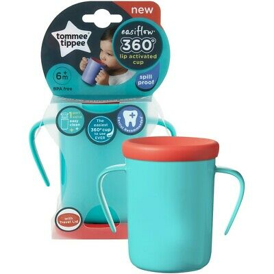 Tommee Tippee Easiflow 360 Degree Trainer Cup 200mL - Teal