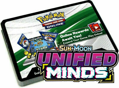 EMAIL Message Online Code 50X Pokemon Unified Minds Booster Pack SENT FAST