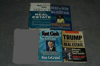 Lot of Four Real Estate Books~All In Xlnt Clean Cond.~Buy and Sell~Investments