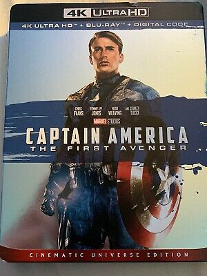 Captain America: The First Avenger (Blu Ray Only)