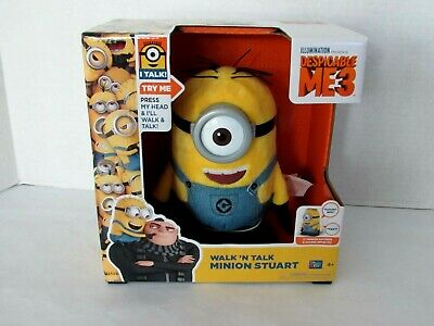Despicable Me 3-7.5 inch Walk /& Talk interactive action figure ONE SUPPLIED