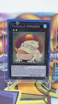 Yugioh Toadally Awesome Secret Rare 1st EDITION MP17-EN150 NM