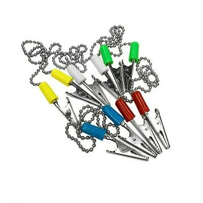 10 Pack Patient Bib Clips Chains Napkin Holder Assorted Color Dental Tattoo