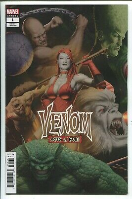 Venom Annual #1 John Tyler Christopher Connecting Variant Cover - Marvel/2019