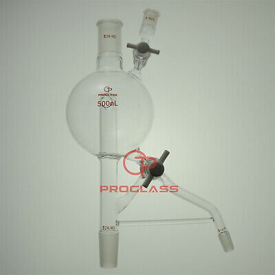 Proglass Solvent Still Head Capacity 500mL,Top 24/40,Side 14/20