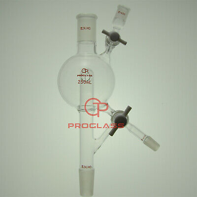 Proglass Modified Solvent Still Head Capacity 500mL,Top 24/40,Side 14/20