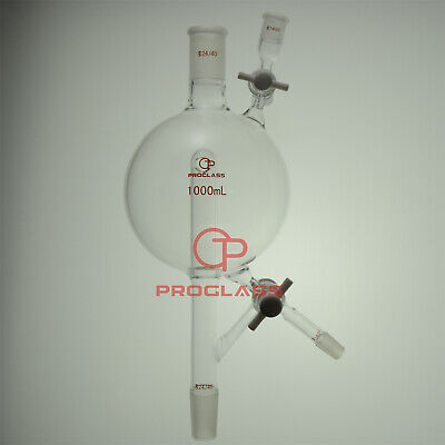 Proglass Modified Solvent Still Head Capacity 1000mL,Top 24/40,Side 14/20