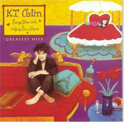 K.T. Oslin - Greatest Hits: Songs from an Aging Sex Bomb CD DISC ONLY #F171