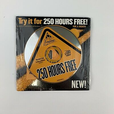 AOL ULTRA EDITION 6 0 1000 Hours Free for 45 Days CD-ROM Free AOL