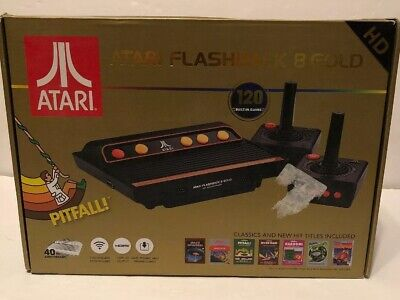 Atari Flashback 8 Gold HD Console Over 120 Classic Built In Games!!