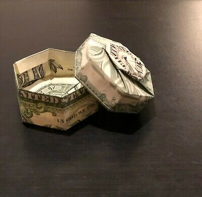 Have Paper, Will Travel: Instructions for $ Hexagonal Box | 391x400