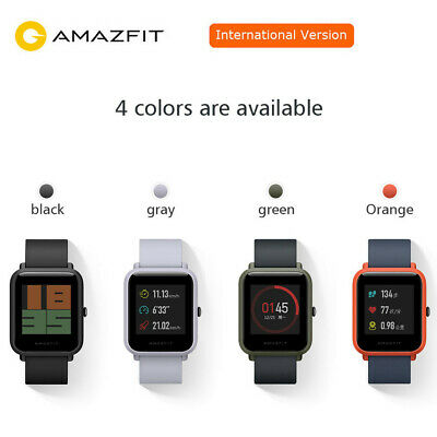 Original Xiaomi Huami AMAZFIT Bip GPS Smart Watch Bluetooth Waterproof Global