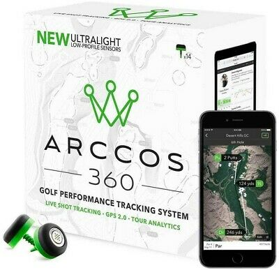 Arccos 360 Golf Performance Tracking System 13 Sensoren + 1 Putter IOS Android