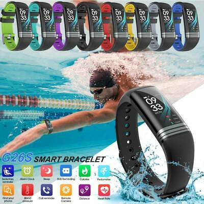 Smart Watch Sports Fitness Tracker Heart Rate Monitor Pedometer for iOS Android