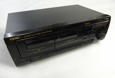 Teac W-600R Stereo Double Cassette Deck