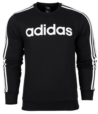 adidas Essentials 3 Stripes Crew Sweatshirt Herren