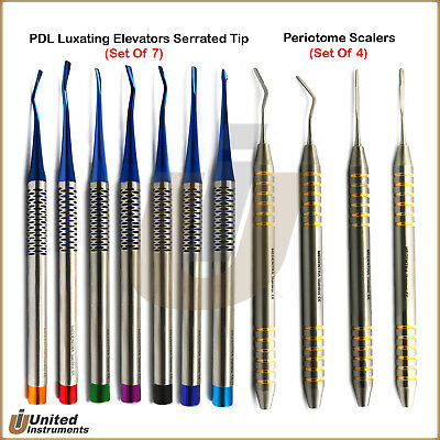 Dental PDL Luxating Elevators Periotome Luxation Implant Root Tooth Extraction
