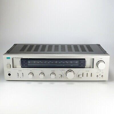 Sansui R-303 Stereo Receiver Silver 1980 - Made In Japan - Tested & Working