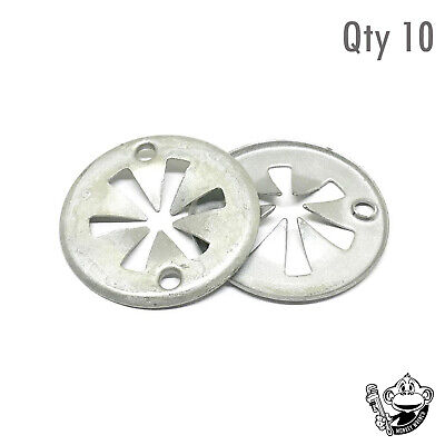 FOR VOLKSWAGEN GOLF - METAL CLAMPING UNDER TRAY LINING SPRING WASHER x10