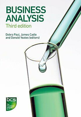Business Analysis by James Cadle New Paperback Book