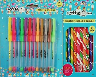 Scented Gel Pens/Jumbo Markers/Colouring Pencils/Magic Markers School Stationery