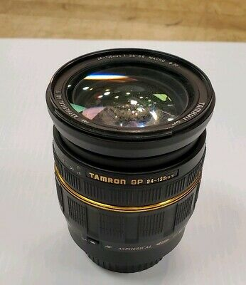 Tamron 190D AF 24-135mm F3.5-5.6 SP ASPH AD IF Macro Lens Canon EF Fungus Inside
