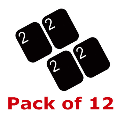 12 Pack Size #2 Scanner Air Tech Type X-Ray Phosphor Plates PSP FDA Approved