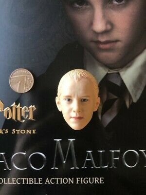 Star Ace Harry Potter Sorcerers Stone Draco Malfoy Head Sculpt loose 1/6th scale