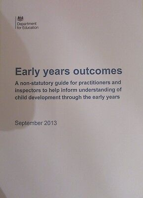 Early Years Outcomes EYFS Early Years Foundation Stage (EYFS) - Spiral Bound
