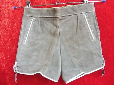High Quality Leather Pants, Size 4/104, Made in Germany, Shorts, Kids