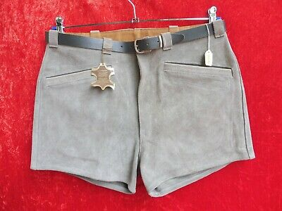 High Quality Leather Pants, Size 48, Made in Germany, Shorts, Ladies, O. Men's