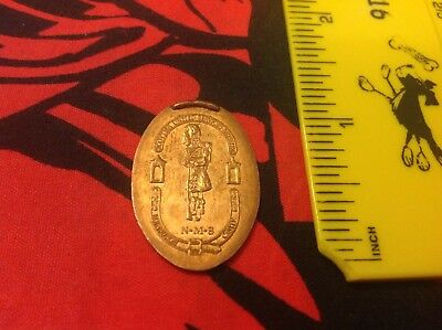 Scottish United Services Museum Pressed Penny Elongated Coin One Pence - UK