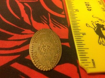 Edinburgh Castle The Royal Scots Pressed Penny Elongated Coin One Pence - UK