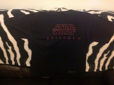Star Wars Episode 2 Attack of the Clones Promotional Episode 2 T-Shirt - Medium