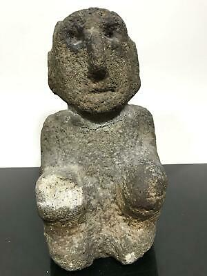 11lb Ancient Pre-Columbian Costa Rican ? Carved Stone Artifact Art Sculpture