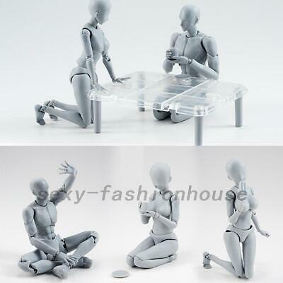 Drawing Figures for Artists Action Figure Model Human Mannequin Man Woman w/Ki