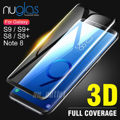 Samsung Galaxy S9 S8 Plus Note 9 8 S7 NUGLAS Tempered Glass Screen Protector