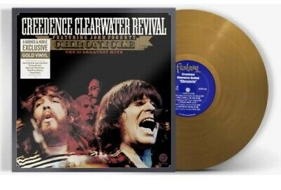 Creedence Clearwater Revival Chronicle Lp The 20 Greatest Hits Gold Vinyl 2019