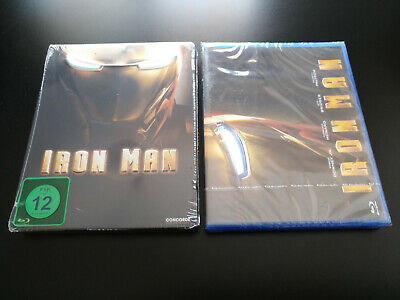 Iron Man 1 - Steelbook - Para Custom - Blu-ray
