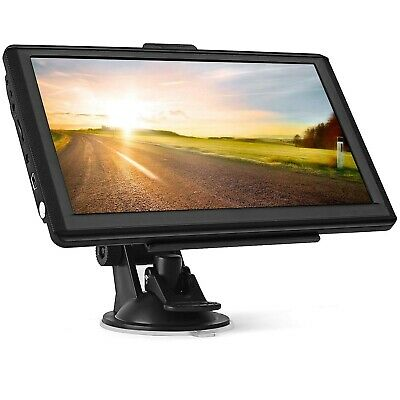 Sat Nav for Cars, 7 inch touchscreen 8GB 256MB Truck GPS Navigation System with