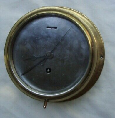 A Brass 1920'S Astral Of Coventry, Ship's Bulkhead Clock.