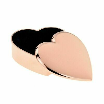 Personalised Rose Gold Heart Trinket Box  - Mothers Day Gift