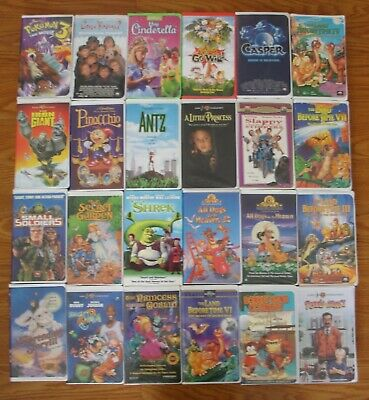 VHS Movies Selection - $5 each or 5 for $15 or 12 for $25 - free shipping