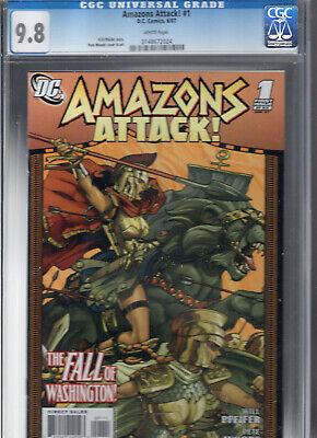 Amazons Attack # 1 CGC 9.8 (Wonder Woman ) combine shipping charges available