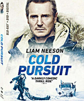 """""""COLD PURSUIT"""" - NEW/SEALED Blu-Ray/DVD/Digital!  Slipcover!  Free Shipping!"""