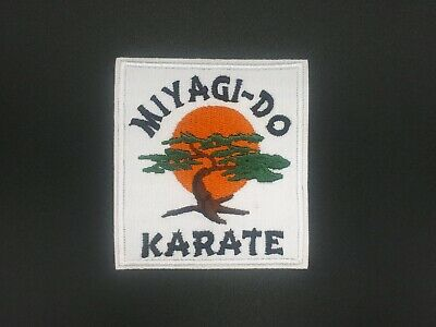 Parche patch Karate Kid Miyagi Pelicula 80 Artes Marciales movie iron classic