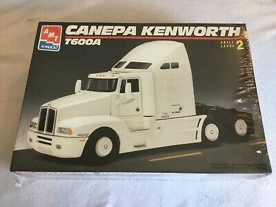 AMT ERTL CANEPA Kenworth T600A Semi Truck Model Kit #6020 Factory Sealed